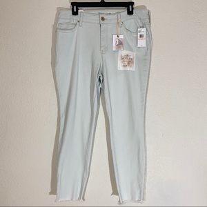 Jessica Simpson Adorned Ankle Skinny Jeans